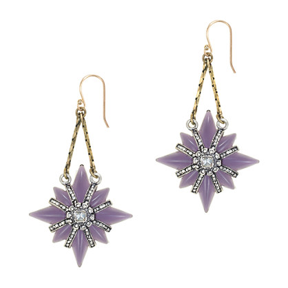 Lulu Frost for J.Crew North Star earrings