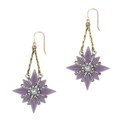 Lulu Frost for J.Crew North Star earrings