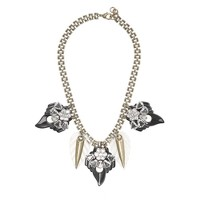 Lulu Frost for J.Crew compass rose necklace