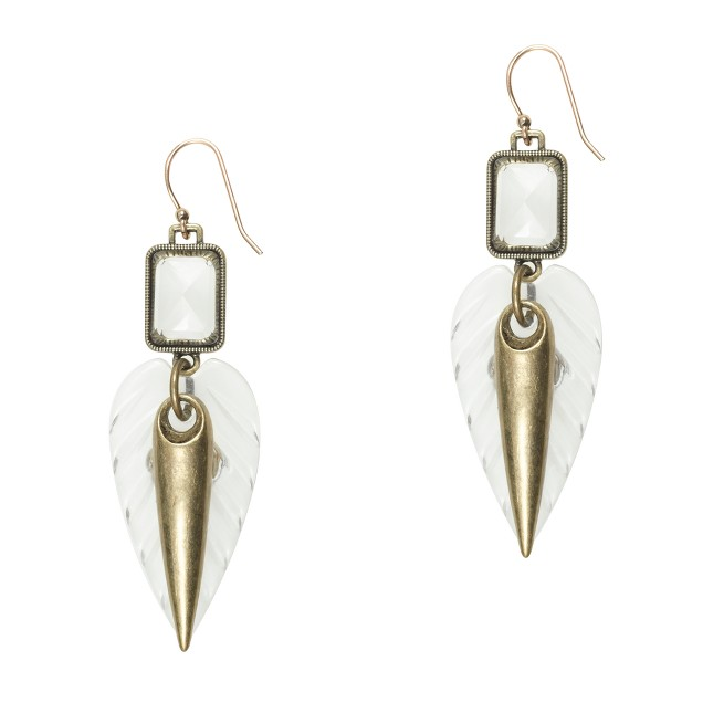 Lulu Frost for J.Crew compass rose earrings