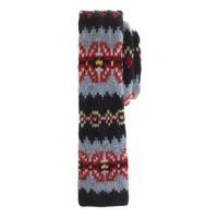 Anonymous Ism wool tie in Fair Isle