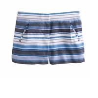 Zigzag stripe short
