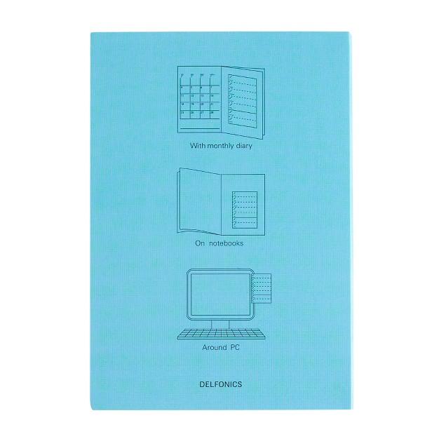Delfonics® weekly schedule notebook