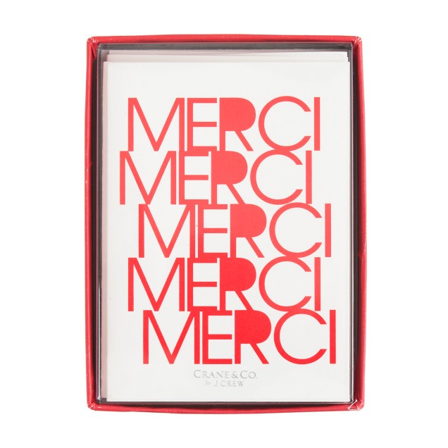 Crane & Co.™ for J.Crew merci card set