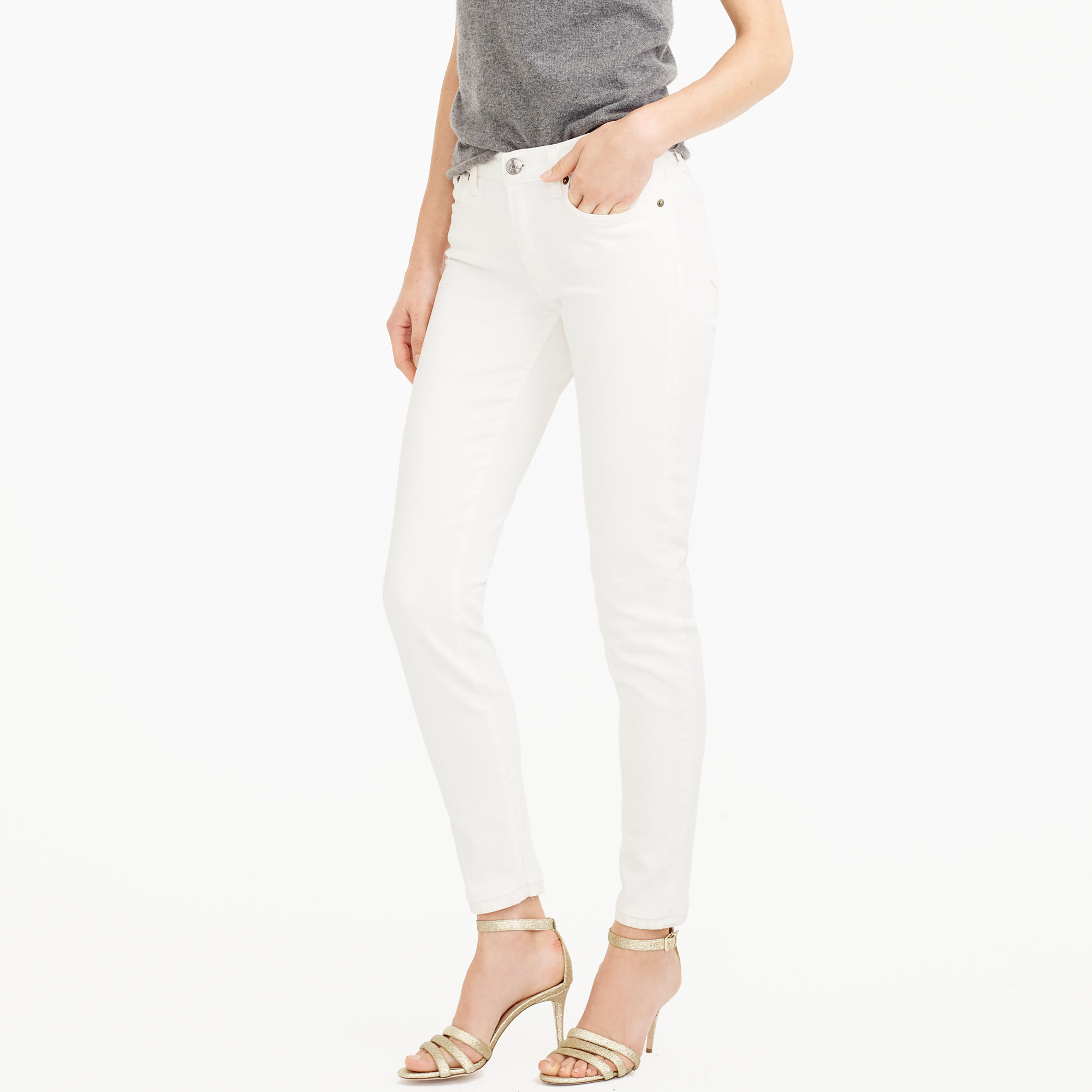 Toothpick Jean In White : Women's Jeans | J.Crew