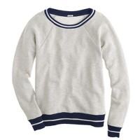 Tipped sweatshirt