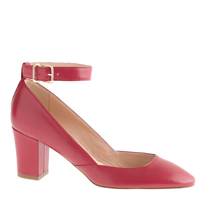 Ankle-strap midheel pumps : shoes | J.Crew