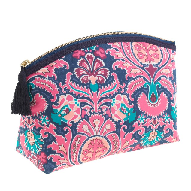 Liberty printed large pouch