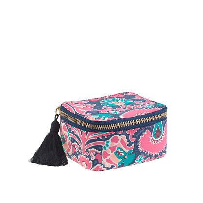 Liberty printed jewelry case