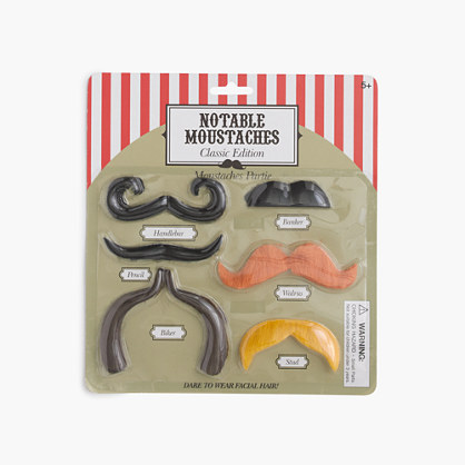 Kids' NPW™ Notable Moustaches kit