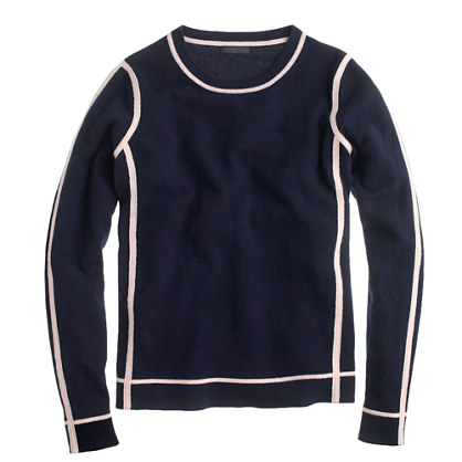 Collection cashmere framed long-sleeve tee