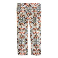 Collection pant in misty fog floral