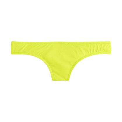 Neon bikini bottom