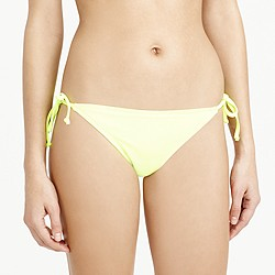 Neon string hipster bikini bottom
