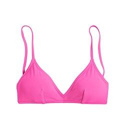 Neon french bikini top