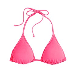 Neon string bikini top