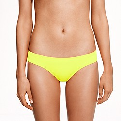 Neon surf hipster bikini bottom