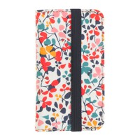 Liberty print wallet case for iPhone® 4/4s