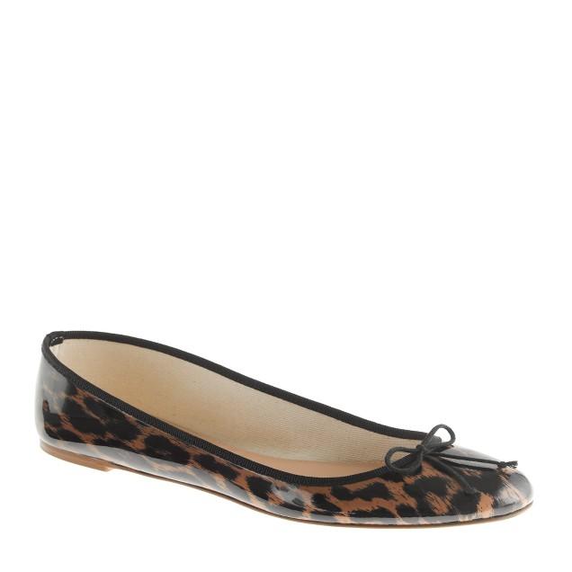 Classic leopard ballet flats