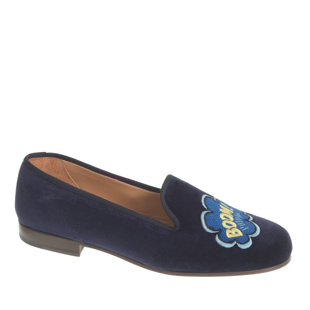 Women's Stubbs & Wootton® velvet slippers