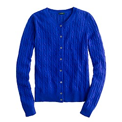 Cambridge cable cardigan