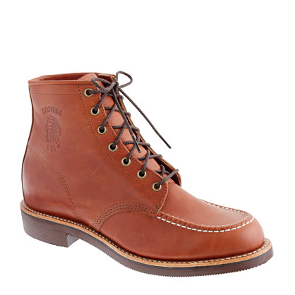 Chippewa® for J.Crew moc-toe boots