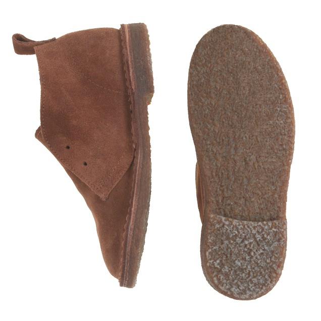 Kids' suede laceless MacAlister boots