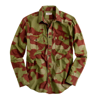 Wallace & Barnes camouflage shirt