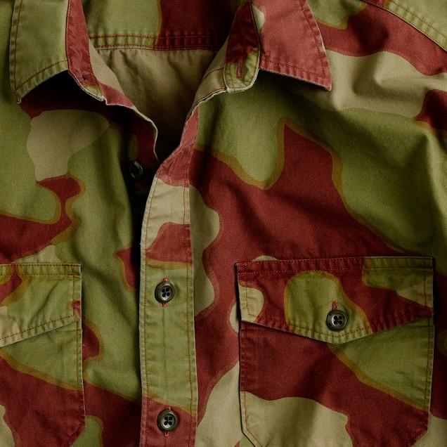 Wallace & Barnes camouflage shirt