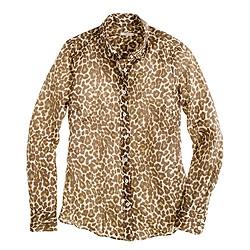 Perfect shirt in animal print