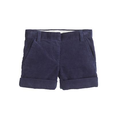 Girls' stretch cord short
