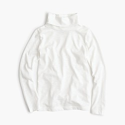 Girls' turtleneck T-shirt