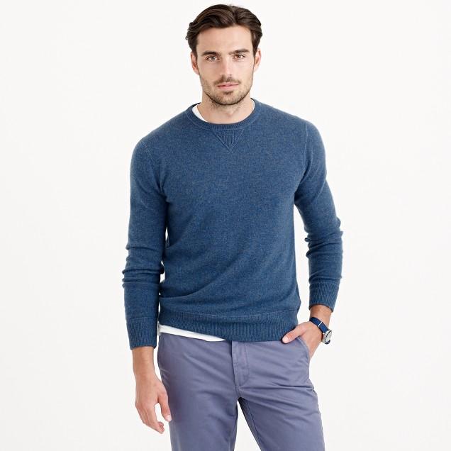 Italian cashmere sweatshirt