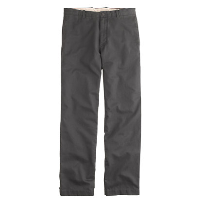 Broken-in chino in regular fit