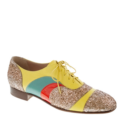 Creatures of the Wind for J.Crew psychedelic oxfords