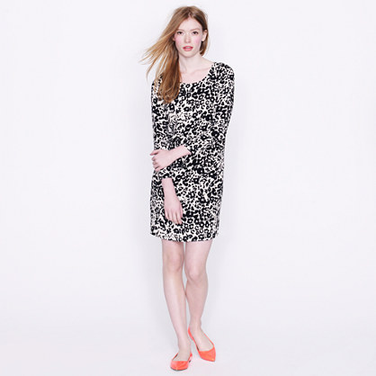 Jules dress in snowcat