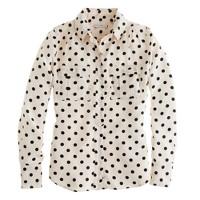 Blythe blouse in polka dot