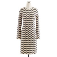 Zigzag sequin dress