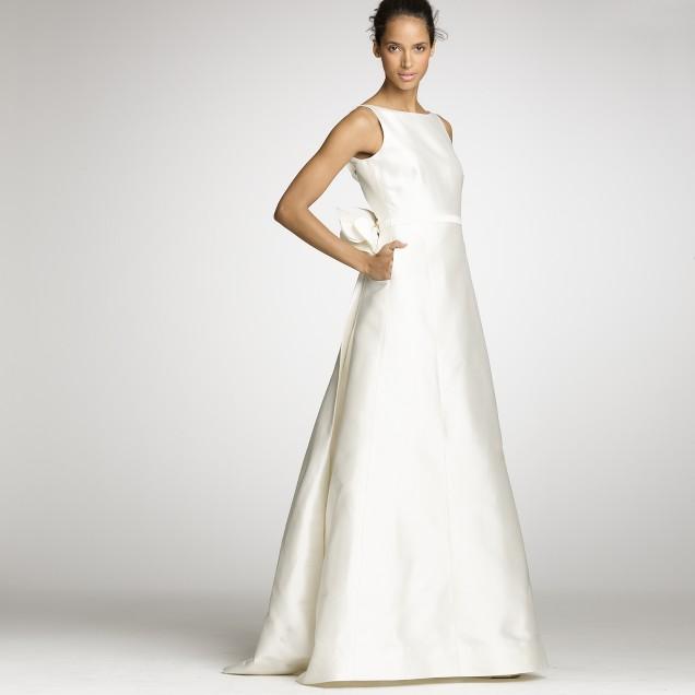 Silk gazar Nanami gown