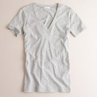 Tissue boyfriend V-neck tee