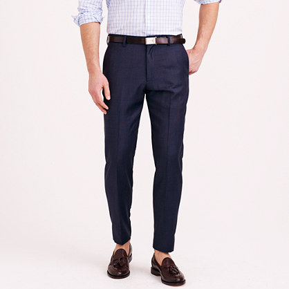 Ludlow classic suit pant in Italian worsted wool