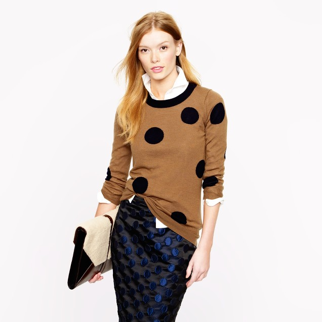 Tippi sweater in polka dot