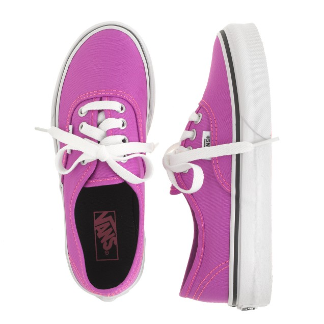 Girls' Vans® authentic lo pro solid sneakers