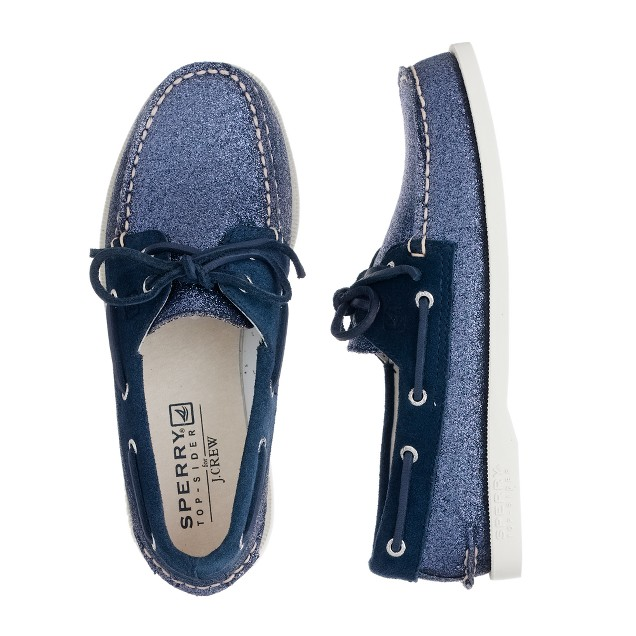 Girls' Sperry Top-Sider® for crewcuts Authentic Original 2-eye boat shoes in glitter
