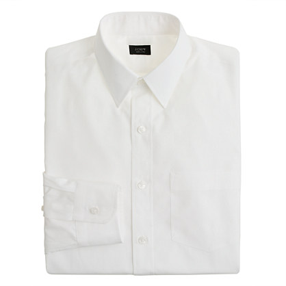 Classic point-collar shirt