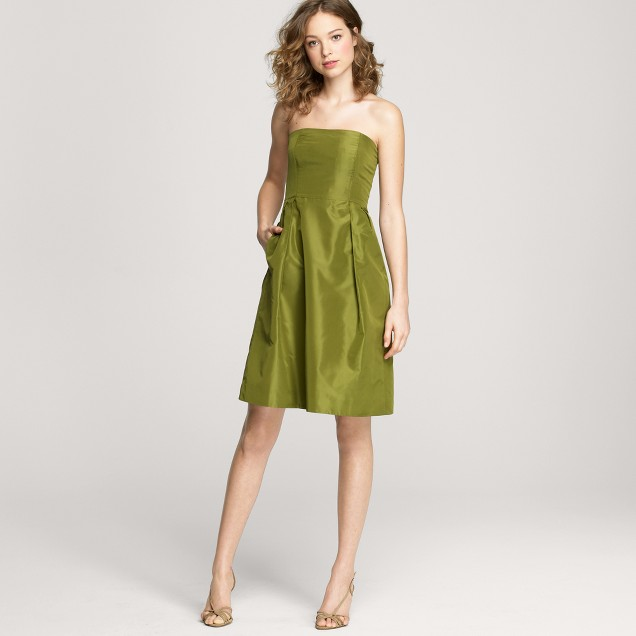 Lorelei dress in silk taffeta