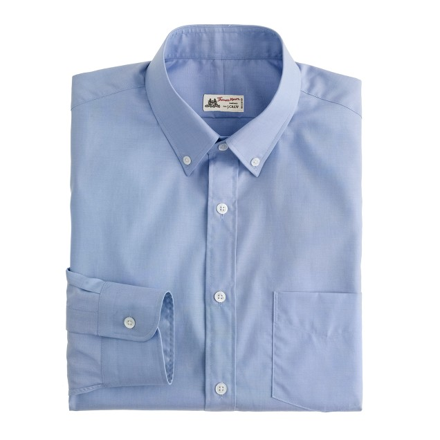 Thomas Mason® for J.Crew button-down dress shirt in peri