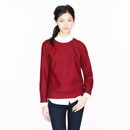 Collection houndstooth popover