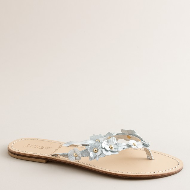 Flora capri sandals