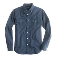 Wallace & Barnes vintage workwear shirt in dot
